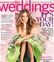 Sarah Jessica Parker Martha Stewart Weddings`de