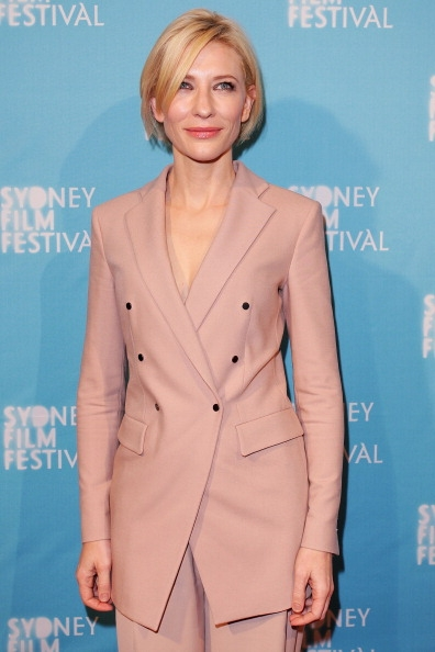 A graceful cate blanchett steps out in elie saab couture