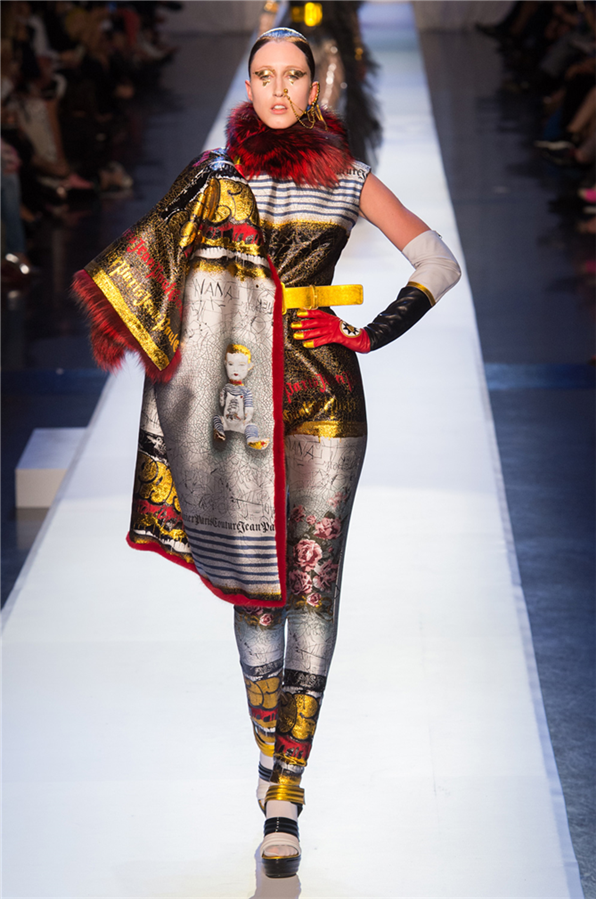 Jean Paul Gaultier Sonbahar 2017-18 Couture Defilesi - Jean Paul Gaultier Sonbahar 2017-18 Couture Defilesi