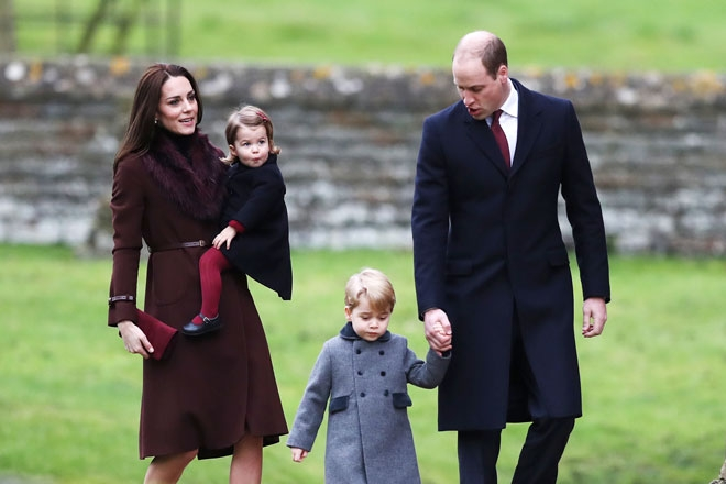 Kate Middleton ve Prens William'ın Noel Gezisi
