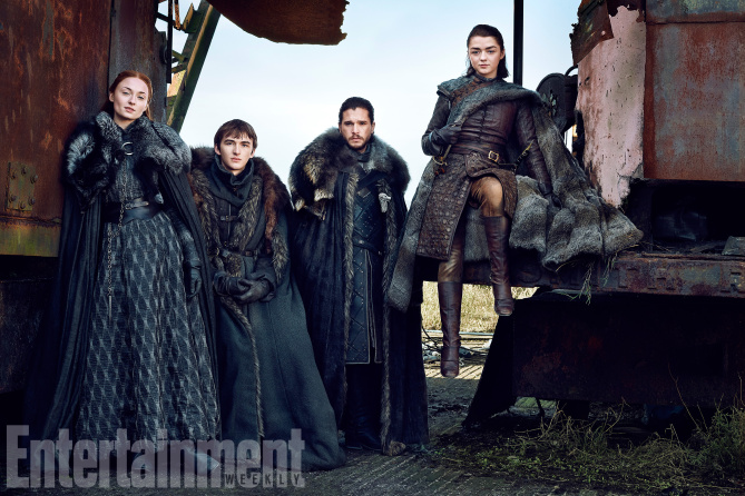 Stark Kardeşler Entertainment Weekly'de - Stark Kardeşler Entertainment Weekly'de